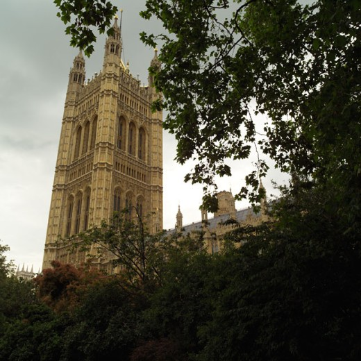 London - House of Parliament : Stock Photo