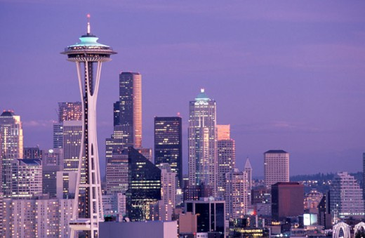Space Needle, Seattle, Washington : Stock Photo