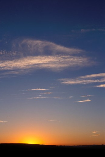 Stock Photo: 1525R-38849 Sun Rising