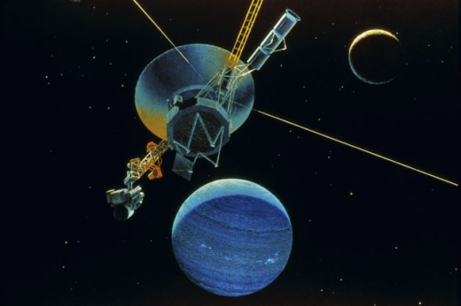 Stock Photo: 1525R-78260 Voyager 2