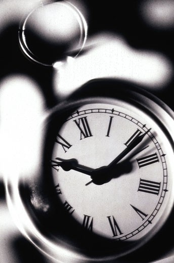 Stock Photo: 1525R-81526 Close-up of a clock