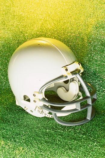Stock Photo: 1525R-81531 American football helmet