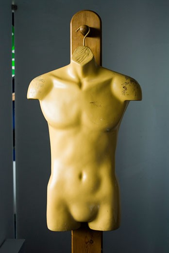 Torso of a mannequin : Stock Photo