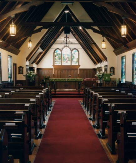 Anglican Church Interior : Stock Photo