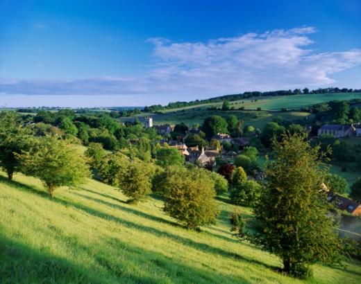 Naunton, Cotswolds, Gloucestershire, England, UK : Stock Photo