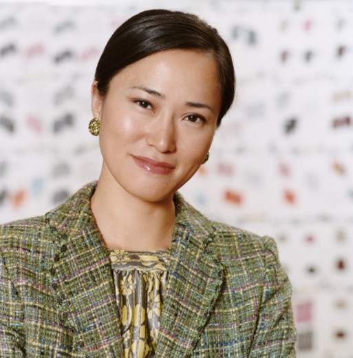 Stock Photo: 1527R-013178 Portrait of a Well Dressed Woman Wearing a Tweed Jacket