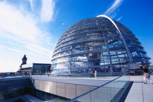 Reichstag Buidling, Berlin, Germany : Stock Photo