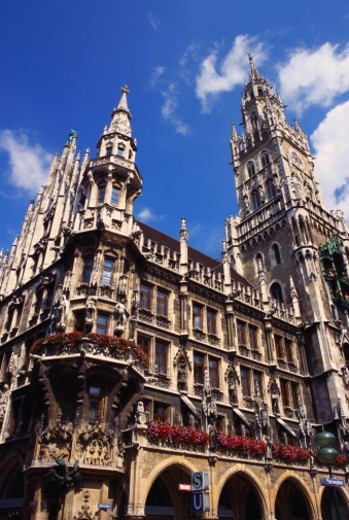Gothic Town Hall, Munich, Bavaria, Germany : Stock Photo