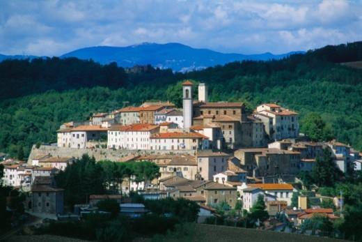 Monterchi, Arezzo, Tuscany, Italy : Stock Photo