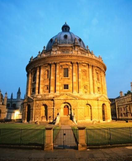 Radcliffe Camera, Oxford University, England : Stock Photo