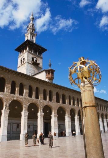 Stock Photo: 1527R-016590 Umayyad Mosque, Damascus, Syria