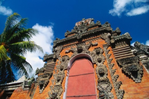 Temple Near Klungkung, Bali, Indonesia : Stock Photo