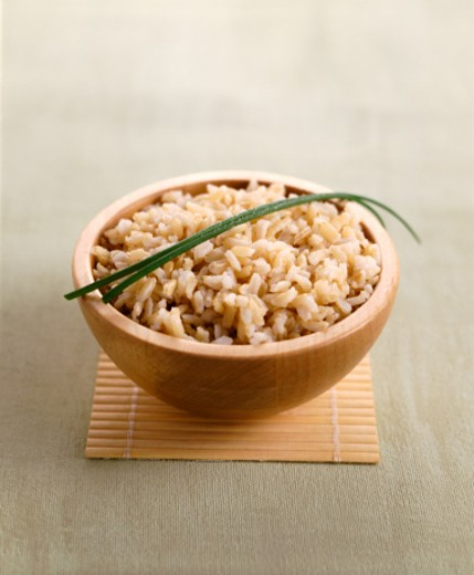 Brown Rice : Stock Photo