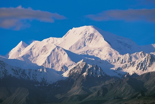 Stock Photo: 1527R-04564 Alaska Mountain Range, Denali National Park, Alaska, USA
