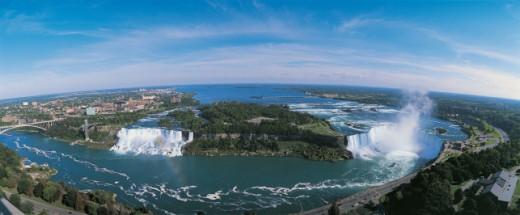 Stock Photo: 1527R-04888 Horseshoe Falls, Niagara Falls, Ontario, Canada