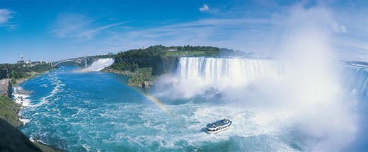 Stock Photo: 1527R-04900 Horseshoe Falls, Niagara Falls, Ontario, Canada