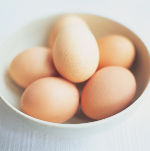 Stock Photo: 1527R-05046 Bowl of Eggs