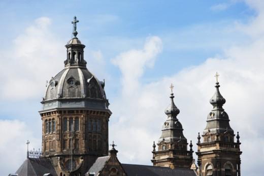 Holland, Amsterdam, St Nicholas church : Stock Photo