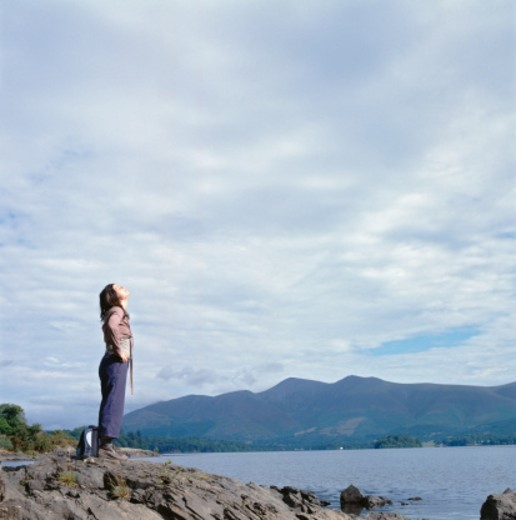 Derwentwater, Lake District, Cumbria, UK : Stock Photo