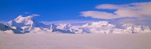 Stock Photo: 1527R-1106586 'Mountains in Wrangell-St.Elias National Park, Alaska'