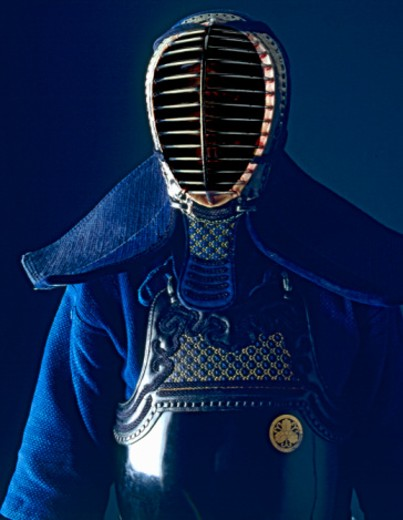 Suit of kendo armor : Stock Photo