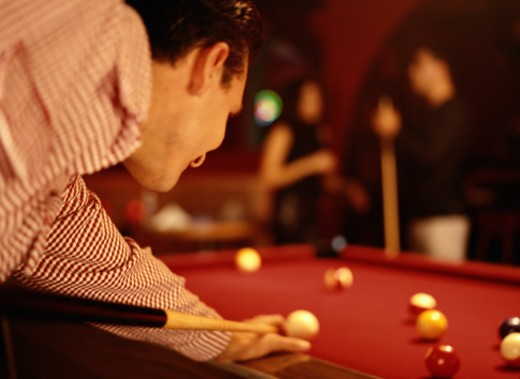 Game of Pool : Stock Photo