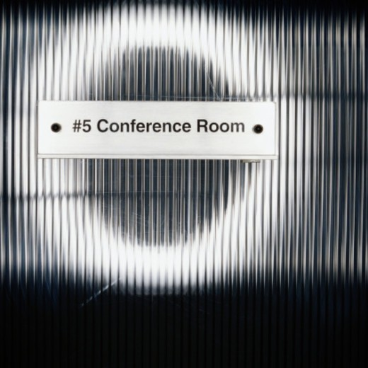 Stock Photo: 1527R-1143587 Conference Room Sign