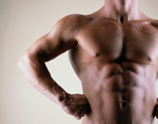 Stock Photo: 1527R-1144881 Midsection of a Man