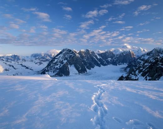 USA, Alaska, Alaskan range : Stock Photo