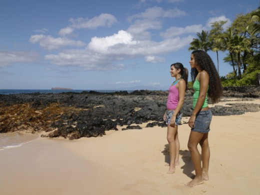 Makena, Maui, Hawi, USA : Stock Photo
