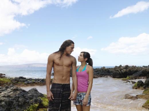 Makena, Maui, Hawi, USA : Stock Photo