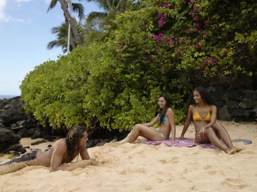 Stock Photo: 1527R-1156575 Makena, Maui, Hawaii, USA