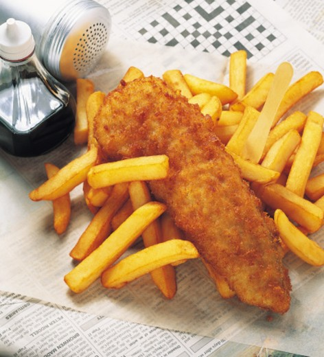 Fish and Chips : Stock Photo