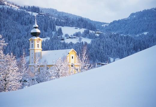 Soll, Tyrol, Austria : Stock Photo