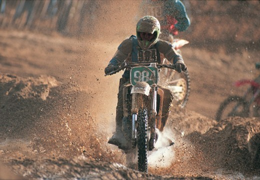 Stock Photo: 1527R-1182816 Dirt Bike Racing