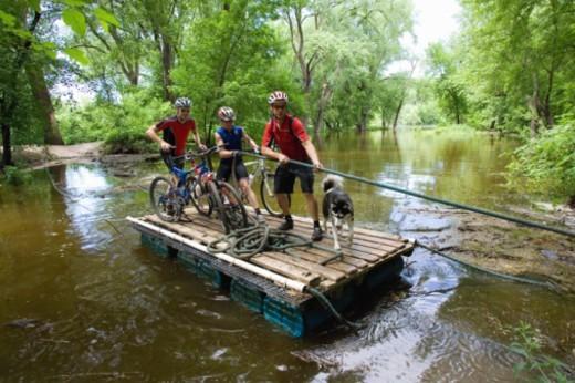 Minnesota river, Minnesota, USA : Stock Photo