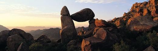 Stock Photo: 1527R-247059 Balanced Rock, Big Bend National Park, Texas, USA