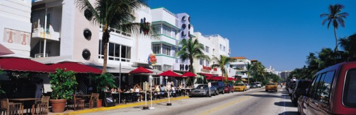 Ocean Drive, Miami Beach, Florida, USA : Stock Photo