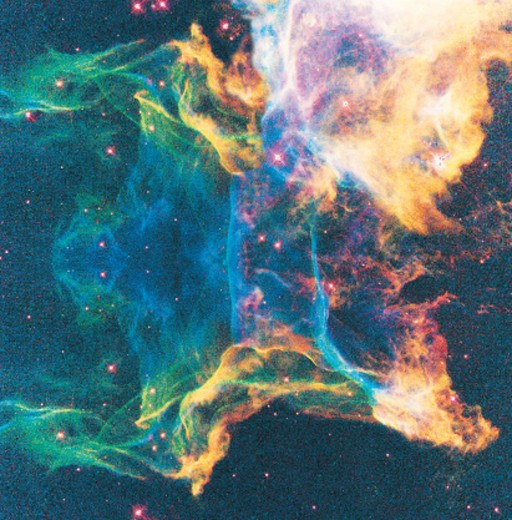 Stock Photo: 1527R-25046 A shockwave from a stellar explosion