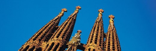 Sagrada Familia, Barcelona, Spain : Stock Photo
