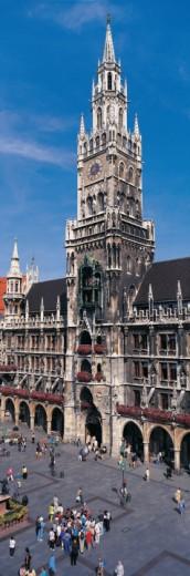 The Rathaus, Marienplatz, Munich, Germany : Stock Photo