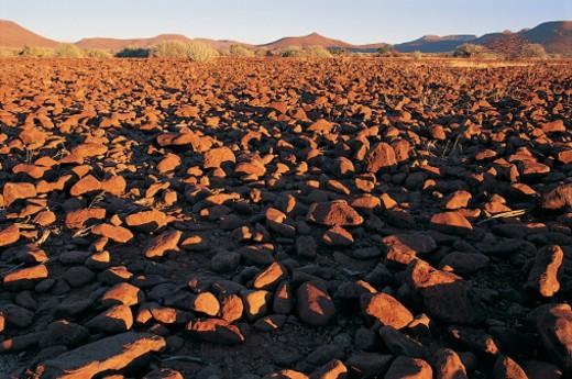 Stock Photo: 1527R-276074 Near Palmwag Lodge, Damaraland, Namibia, Africa
