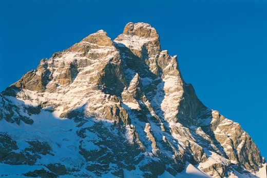Mount Cervino, Aosta Valley, Italy : Stock Photo
