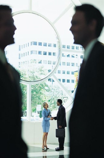 Stock Photo: 1527R-309080 Business People Talking