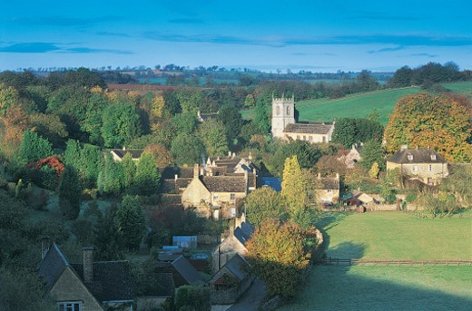 Stock Photo: 1527R-391026 Naunton, Cotswolds, England, UK