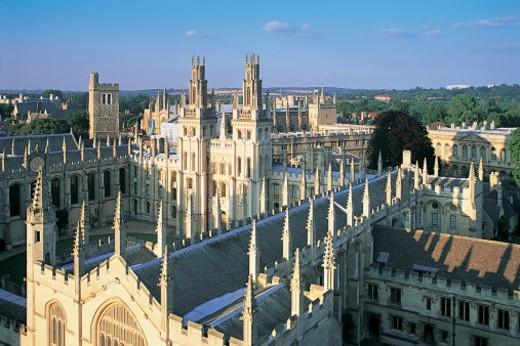 Oxford University, England, UK : Stock Photo