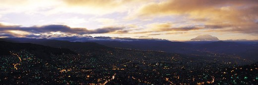 Stock Photo: 1527R-393004 La Paz, Bolivia