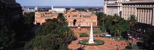 Casa Rosada, Plaza de Mayo, Buenos Aires, Argentina : Stock Photo