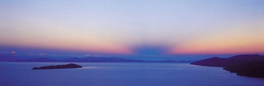 Island of the Moon, Lake Titicaca, Bolivia : Stock Photo