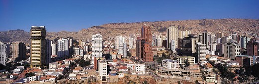 La Paz, Bolivia : Stock Photo
